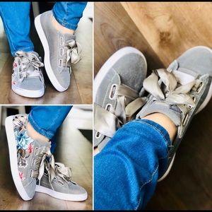 PUMA Women's Basket Heart Hyper Embossed Sneakers